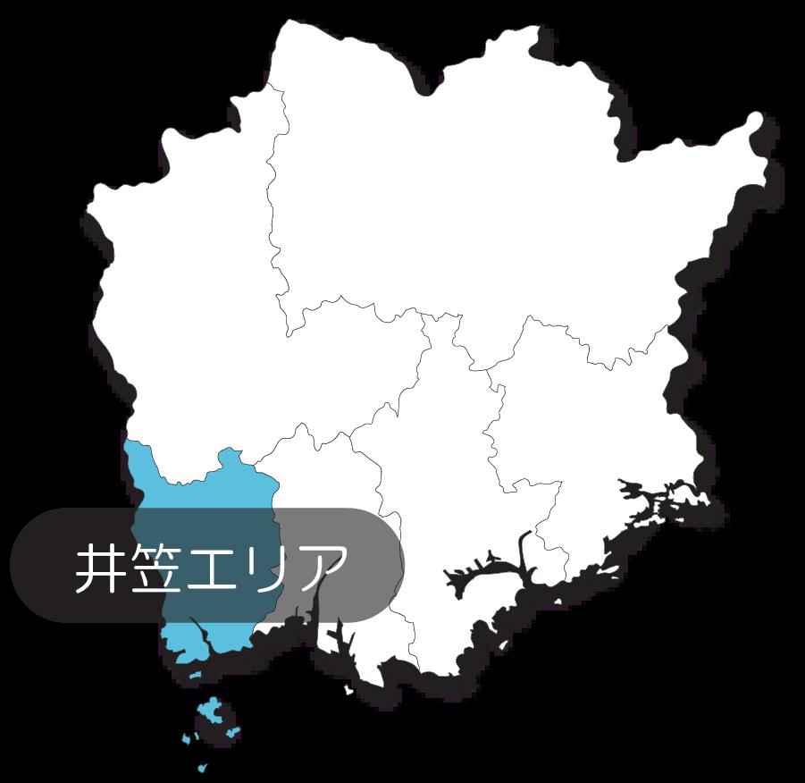井笠エリアマップ