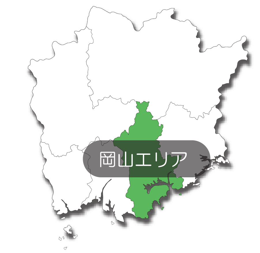 岡山エリアマップ